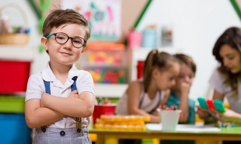 child in elementary school